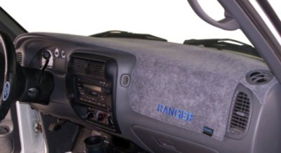 Dash Designs DSHD20630BTP Brushed Suede Dash Cover - Gray, Suede, Mat