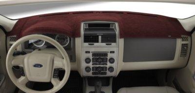 Dashmat DSM07310028 Dash Cover - Red, Carpet, Mat, Direct Fit