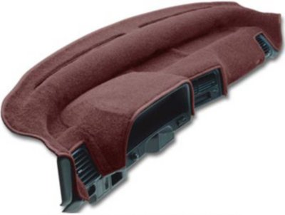 Dashmat DSM17300028 Dash Cover - Red, Carpet, Mat, Direct Fit
