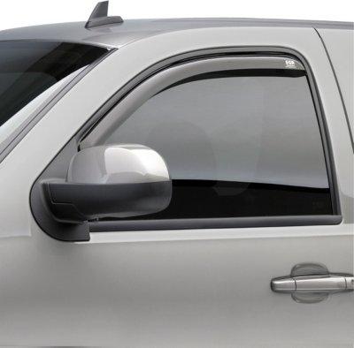 EGR E17575221 Slimline In-Channel Window Visor - Smoke, Acrylic, In-Channel