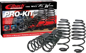 Eibach E272579140 Pro-Kit Lowering Springs - Powdercoated Black