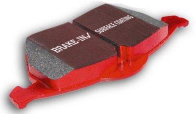 EBC E35DP31594C Redstuff 3000 Brake Pad Set - Ceramic, Direct Fit