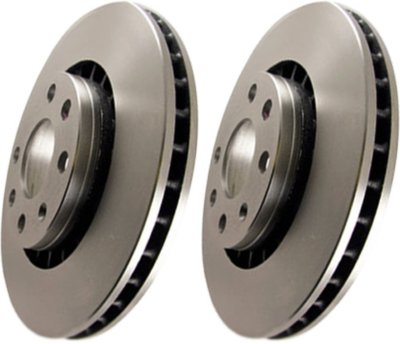 EBC E35RK1695 Premium Brake Rotors Brake Disc - 14.5 in. Diameter, Cast Iron, Plain Surface, Direct Fit