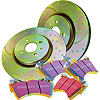 EBC Brake Disc and Pad Kit
