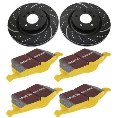 Image of 20052008 Infiniti G35 Brake Disc and Pad Kit EBC Infiniti Brake Disc and Pad Kit S5KR1180
