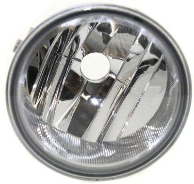 Replacement F107563  Fog Light - Clear Lens, Plastic Lens, DOT, SAE compliant, Direct Fit