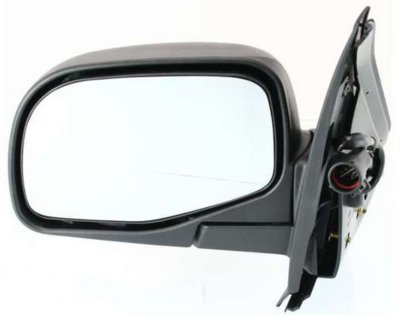Kool Vue FD67EL Mirror - Textured Black, Direct Fit, Non-heated