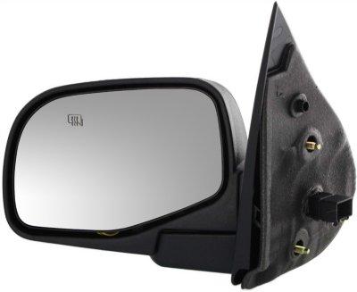 Kool Vue FD74EL Mirror - Textured Black, Direct Fit, Heated