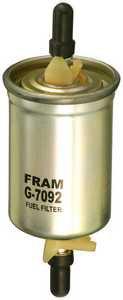 1997-2002 Ford Escort Fuel Filter Fram Ford Fuel Filter G7092 FFG7092