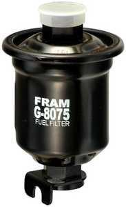 1997-2002 Mitsubishi Mirage Fuel Filter Fram Mitsubishi Fuel Filter G8075 FFG8075