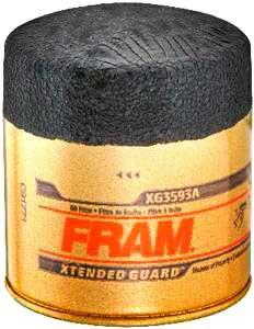 1988-2000 Honda Civic Oil Filter Fram Honda Oil Filter XG3593A FFXG3593A
