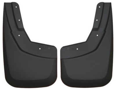 Husky Liners H2156091 Custom Fit Mud Flaps - Black, Plastic, Direct Fit
