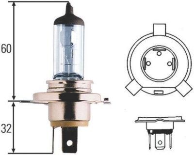 Hella H57H83140081 Xenon Premium Long Life Headlight Bulb - HID, Direct Fit
