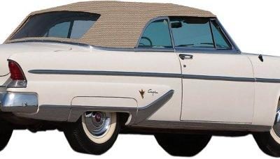 1952-1955 Lincoln Capri Convertible Top Kee Auto Top Lincoln Convertible Top CD2028TO09SF