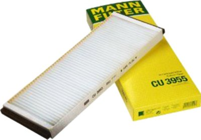 1994-1998 Audi Cabriolet Cabin Air Filter Mann-Filter Audi Cabin Air Filter CU3955 MANCU3955