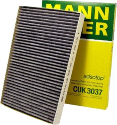 2002-2009 Audi A4 Cabin Air Filter Mann-Filter Audi Cabin Air Filter CUK3037 MANCUK3037
