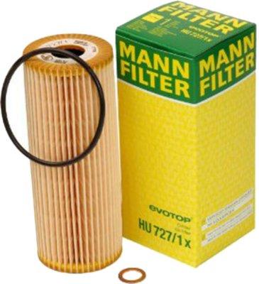 1995-1997 Mercedes Benz E320 Oil Filter Mann-Filter Mercedes Benz Oil Filter HU727/1X