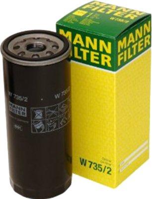 2000-2004 Audi A6 Quattro Oil Filter Mann-Filter Audi Oil Filter W735/2 MANW7352
