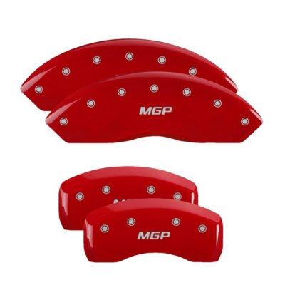 MGP MGP17180SMGPRD Caliper Cover - Red Powdercoat, Aluminum