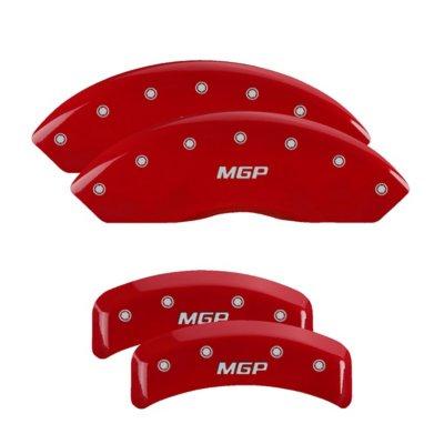 MGP MGP54003SMGPRD Caliper Cover - Red Powdercoat, Aluminum