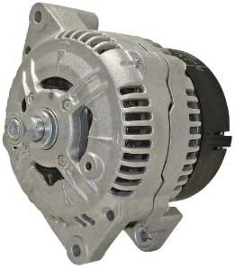 Quality-Built MPA13520 Alternator - Factory Finish, Direct Fit, 100, Clockwise, Internal, Clockwise