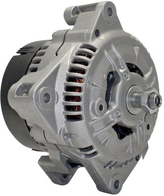 Quality-Built MPA13800 Alternator - Factory Finish, Direct Fit, 100, Clockwise, Internal, Clockwise
