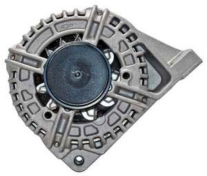 Quality-Built MPA13801 Alternator - Factory Finish, Direct Fit, 120, Counterclockwise, Internal, Counterclockwise