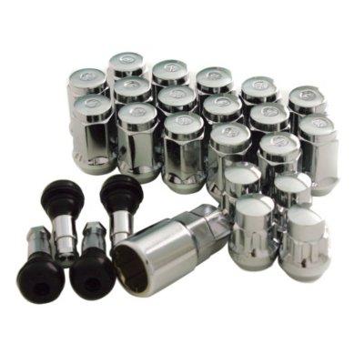 Mr Lugnut MRN5454K6 Lug Nut - Chrome, Steel, Universal
