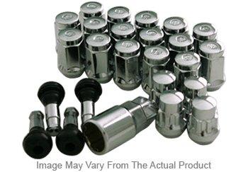 Mr Lugnut MRN5455K6 Lug Nut - Chrome, Steel, Direct Fit