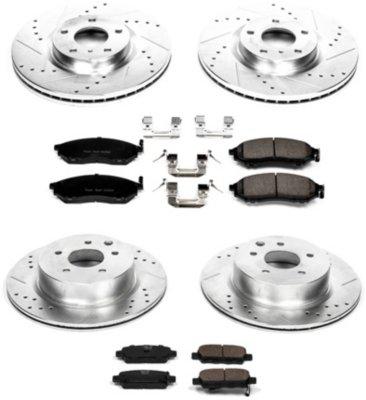 Image of 20092013 Infiniti G37 Brake Disc and Pad Kit Powerstop Infiniti Brake Disc and Pad Kit K114