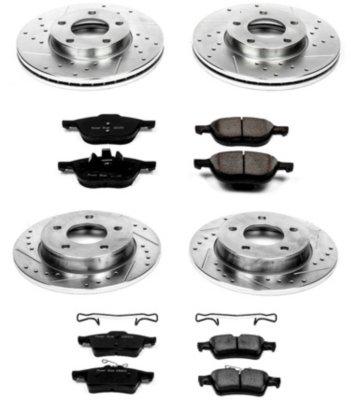 Image of 20062013 Mazda 3 Brake Disc and Pad Kit Powerstop Mazda Brake Disc and Pad Kit K121