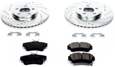 Image of 20012010 Chrysler PT Cruiser Brake Disc and Pad Kit Powerstop Chrysler Brake Disc and Pad Kit K1704