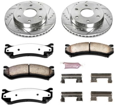 Image of 20042006 Chevrolet Silverado 1500 Brake Disc and Pad Kit Powerstop Chevrolet Brake Disc and Pad Kit K200936