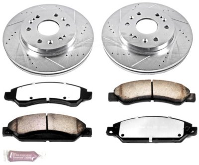 Image of 20052006 Chevrolet Silverado 1500 Brake Disc and Pad Kit Powerstop Chevrolet Brake Disc and Pad Kit K206736