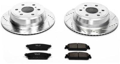 Image of 20072014 GMC Yukon XL 1500 Brake Disc and Pad Kit Powerstop GMC Brake Disc and Pad Kit K2083