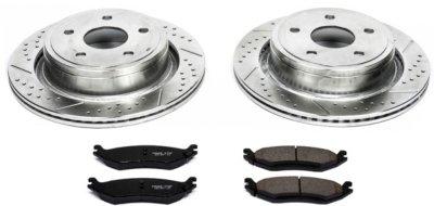 Image of 20022010 Dodge Ram 1500 Brake Disc and Pad Kit Powerstop Dodge Brake Disc and Pad Kit K2172