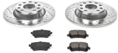 Image of 20062009 Volkswagen Passat Brake Disc and Pad Kit Powerstop Volkswagen Brake Disc and Pad Kit K2261