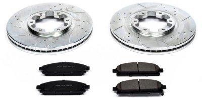 Image of 19982003 Infiniti QX4 Brake Disc and Pad Kit Powerstop Infiniti Brake Disc and Pad Kit K2279