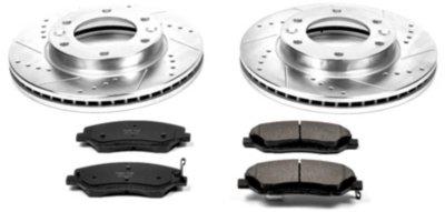 Image of 20062014 Kia Sedona Brake Disc and Pad Kit Powerstop Kia Brake Disc and Pad Kit K4664