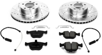 Image of 19952001 BMW 740iL Brake Disc and Pad Kit Powerstop BMW Brake Disc and Pad Kit K503