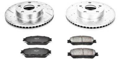 Image of 20052014 Toyota Tacoma Brake Disc and Pad Kit Powerstop Toyota Brake Disc and Pad Kit K5431