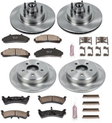 Image of 19952001 Ford Explorer Brake Disc and Pad Kit Powerstop Ford Brake Disc and Pad Kit KOE1855