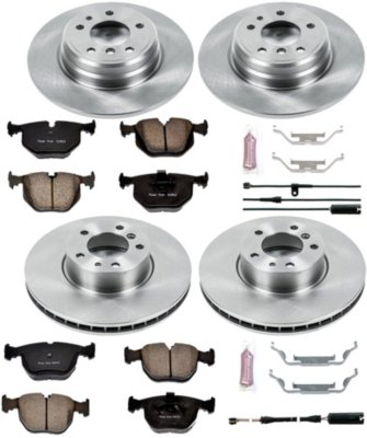 Image of 19952001 BMW 740iL Brake Disc and Pad Kit Powerstop BMW Brake Disc and Pad Kit KOE5710