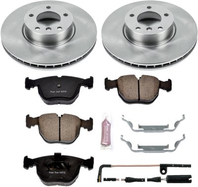 Image of 20012003 BMW 530i Brake Disc and Pad Kit Powerstop BMW Brake Disc and Pad Kit KOE944