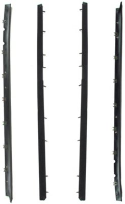 Precision Parts PCNC450727 Weatherstrip Seal - Glass Weatherstrip, Direct Fit