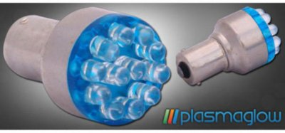 Plasmaglow PMG1157LEDB Light Bulb - Blue, Direct Fit