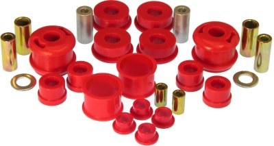 Prothane PTH162004 Master Bushing Kit - Red, Polyurethane