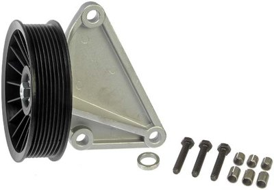 1995-1997 Ford E-350 Econoline A/C Compressor By-Pass Pulley Dorman Ford A/C Compressor By-Pass Pulley 34180