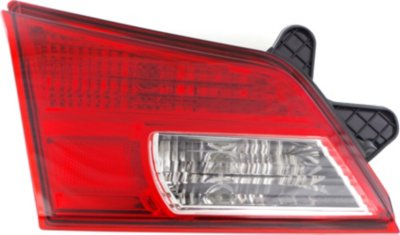 Replacement REPS730340 Tail Light - Clear & Red Lens, DOT, SAE compliant, Direct Fit