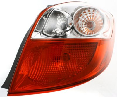 Replacement REPT730125  Tail Light - Clear & Red Lens, DOT, SAE compliant, Direct Fit